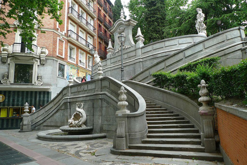 Las escaleras más impresionantes de todo Madrid
