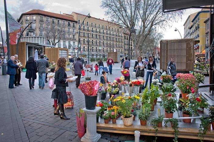 Madrid lucirá un renovado mercado de las flores en Tirso de Molina