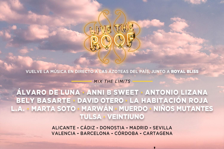 Live the roof 2021trae los mejores conciertos en azoteas de Madrid