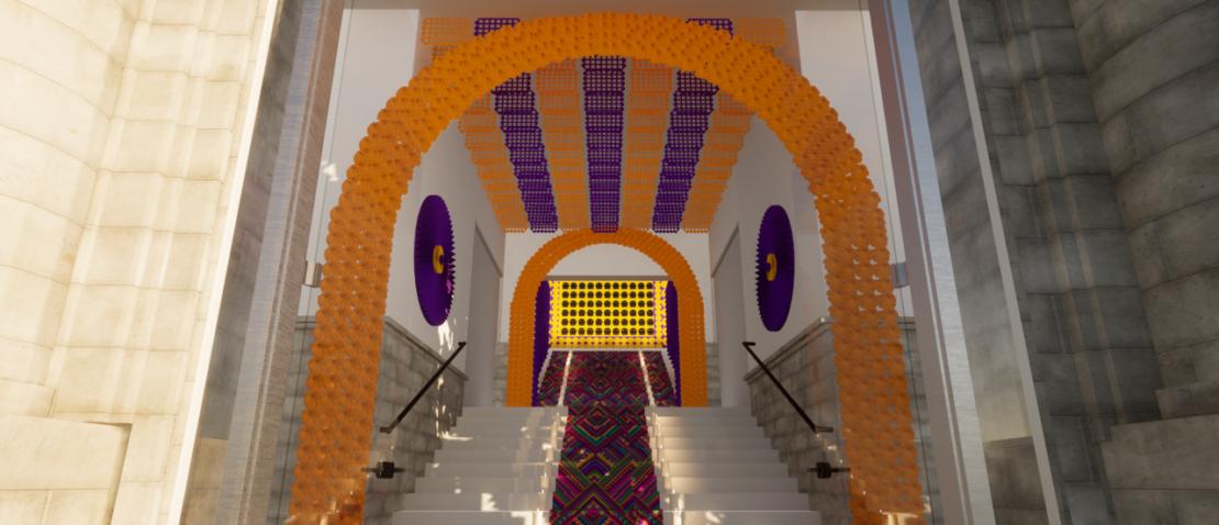 Impresionante Altar de muertos 2021 se instala en la Casa de México