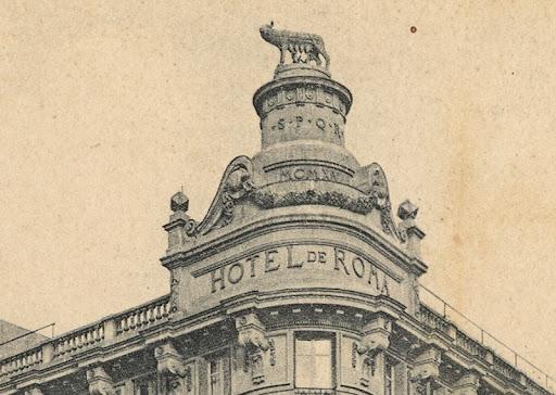 La loba capitolina, la nueva escultura en las azoteas de la Gran Vía