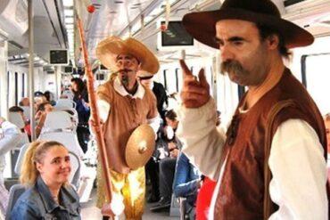 El Tren de Cervantes 2021 circula de nuevo entre Madrid y Alcalá