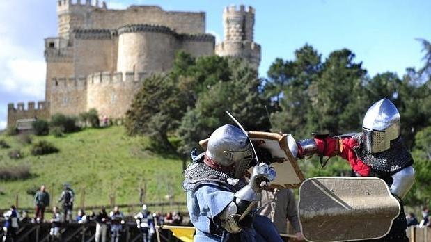 Jornadas de combates medievales en el Castillo de Manzanares El Real