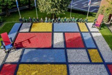 Semana Europea de la Movilidad trae un jardín efímero al Paseo del Prado